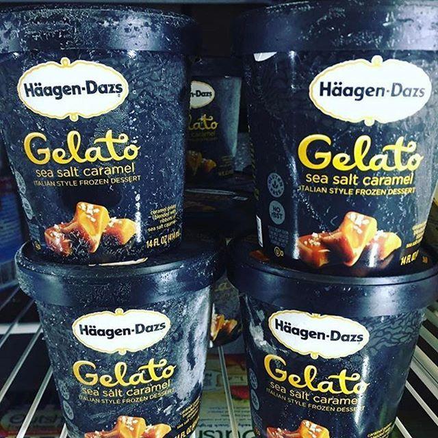 Häagen-Dazs Gelato Sea Salt Caramel!   #99centsonly #99cents