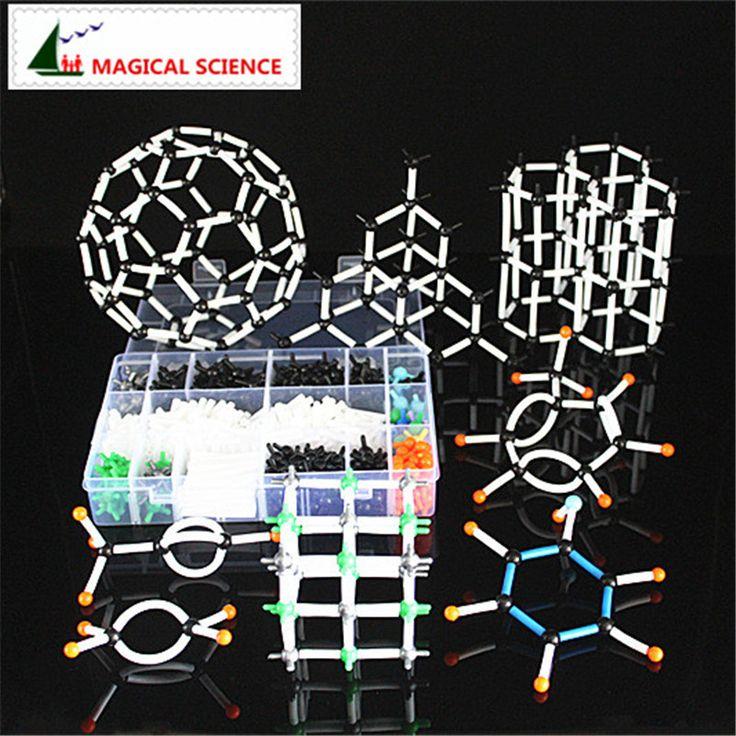 620 قطع 9 ملليمتر الجزيئية نموذج كيت مع صندوق ، نموذج التدريس لل معلم الكيمياء العضوية و الطلاب في ارتفاع مدرسة و جامعة