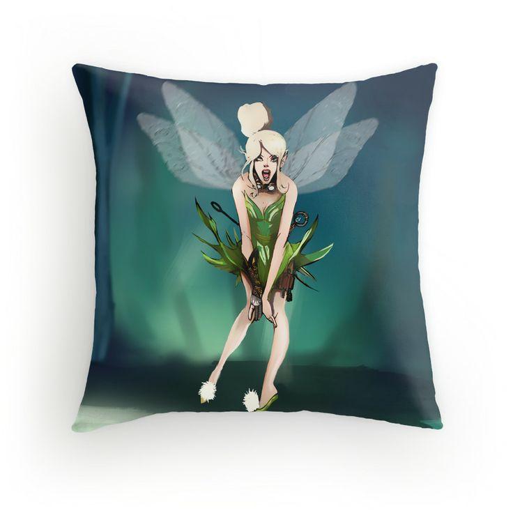 steampunk tink pillow