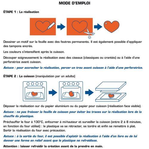 7 feuilles plastique dingue - Cultura.com