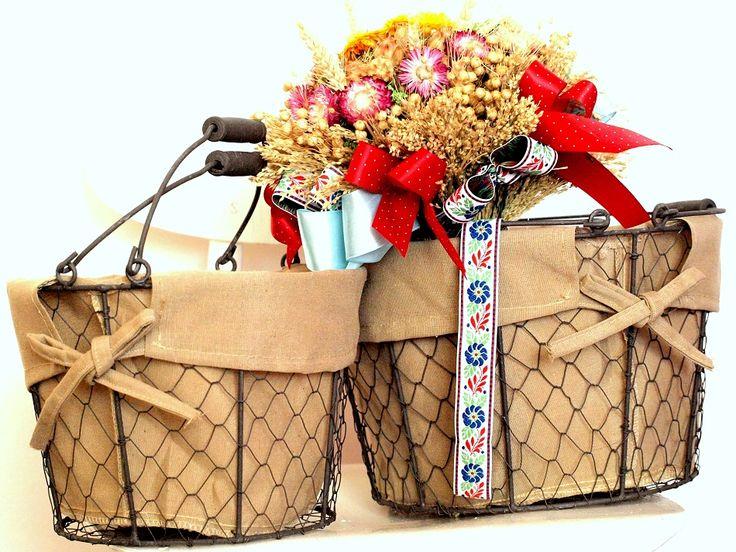 košíky na nákup, na pečivo alebo ako dekorácie