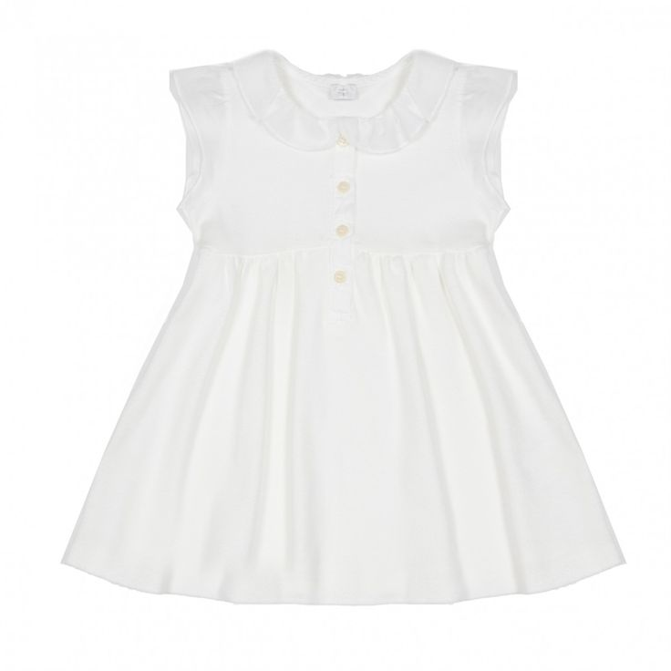 Il Gufo white dress for baby. 39 eur.