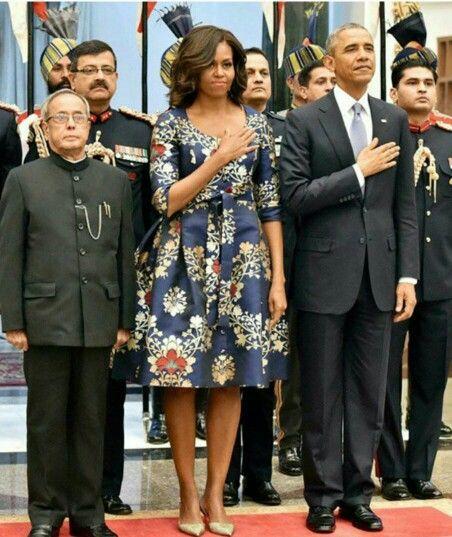 The Obama's in India