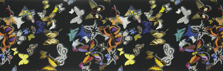 Christian Lacroix 'The Butterfly Parade' fabric range, Designers Guild.