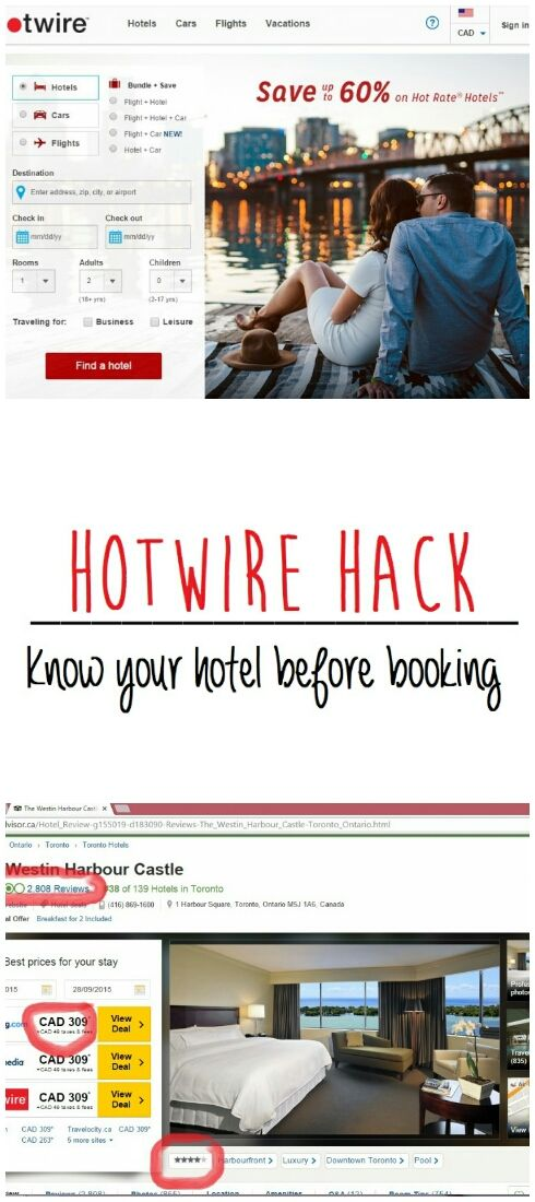 How to know your hotel before booking on Hotwire #hack