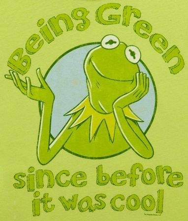 Being Green Since Before It Was Cool , Kermit the Frog