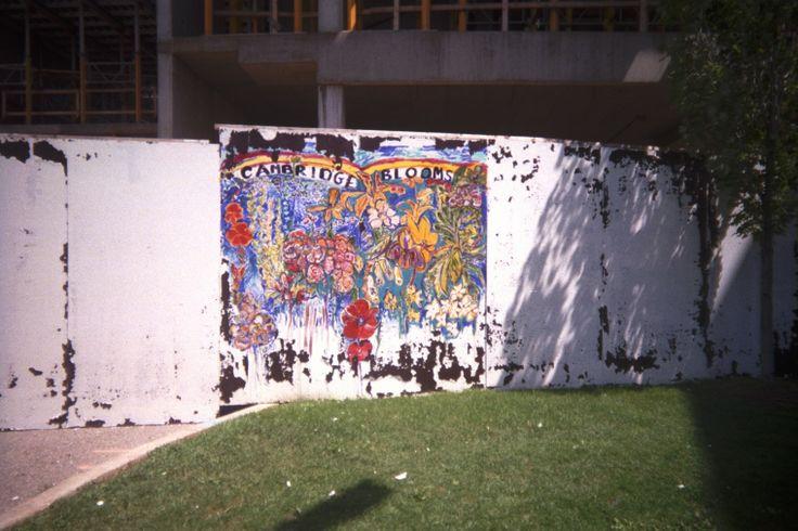 2003   fence mural outside the art centre