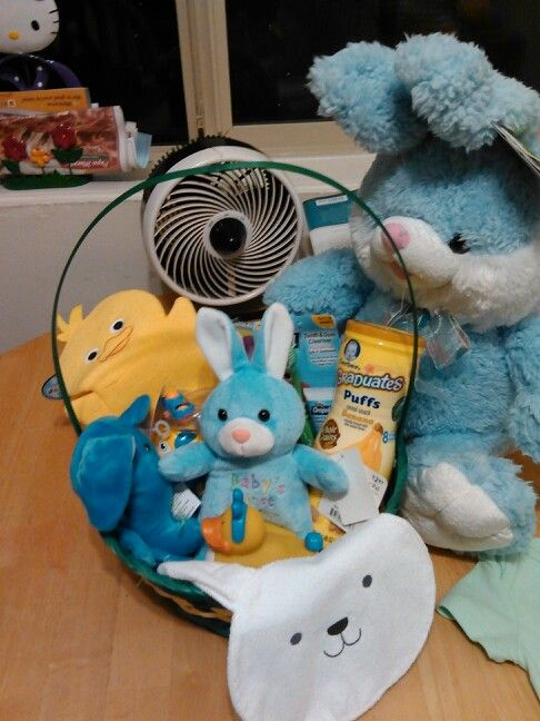 64 best holiday easter images on pinterest easter ideas easter an easter basket perfect for a baby 6 9months old negle Image collections
