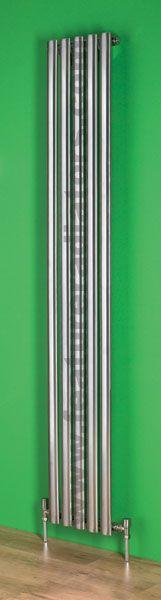 Oval Vertical stainless steel radiator