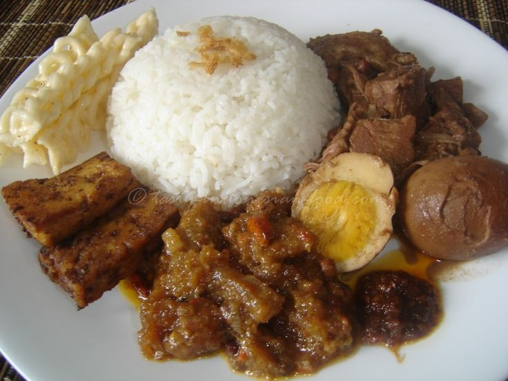 Tasty Indonesian Food - Gudeg