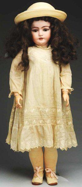 Rare German Bisque Child Doll.
