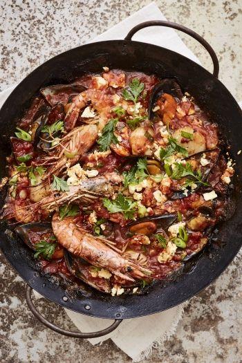 Spanish Prawn and Fish Stew recipe.