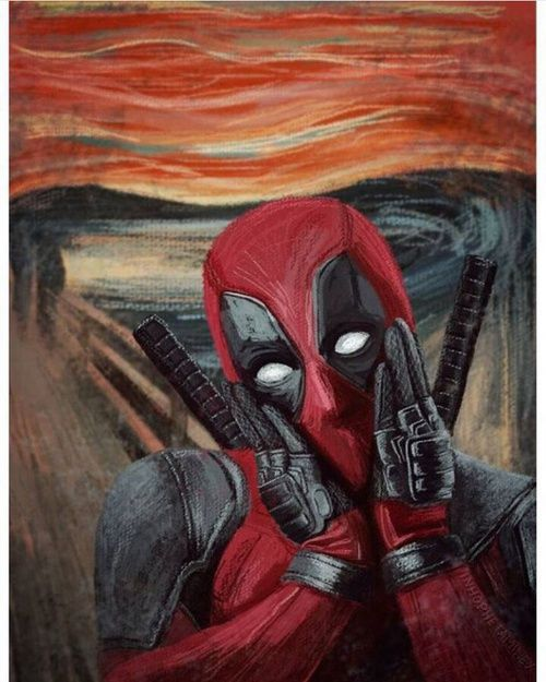 grafika deadpool and Marvel