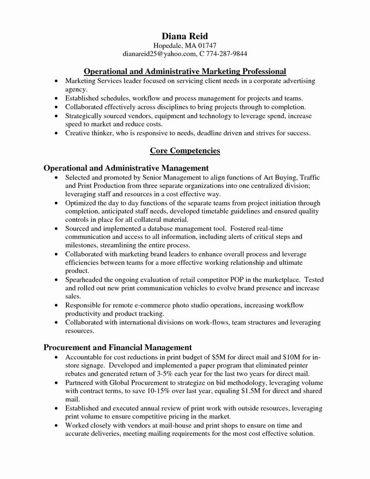 real estate executive assistant resume