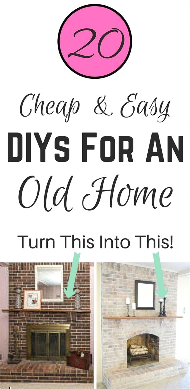 How To Make Your Home Improvement Project Look Professional Old Houses Home Improvement Projects Easy Home Decor
