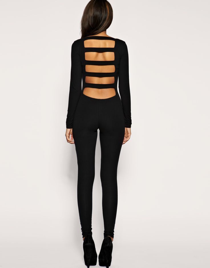 stripes: Sleeve Slash, Fashion, Sexy, Style, Long Sleeve, Black, Asos Long