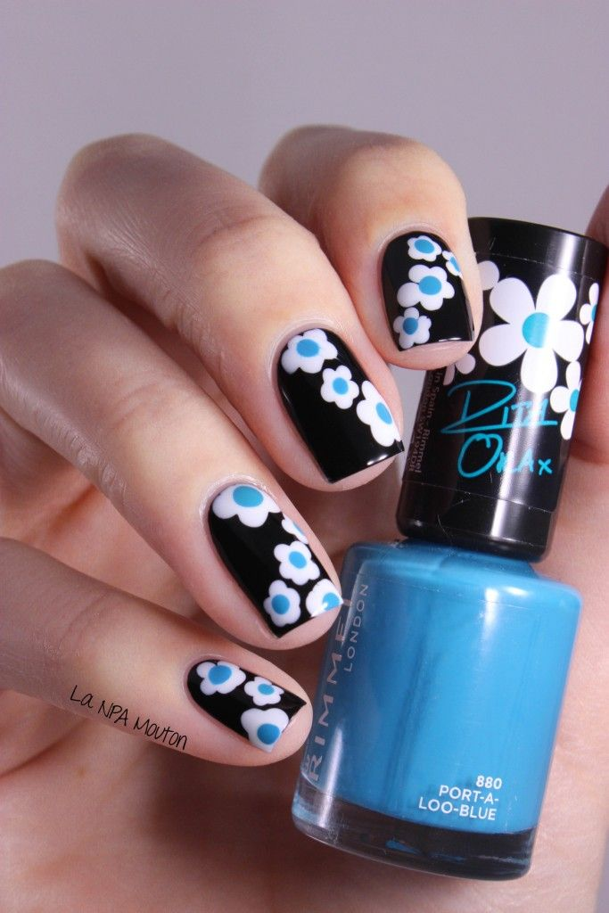 Petites fleurs de printemps pour la nouvelle collection Rita Ora de Rimmel !