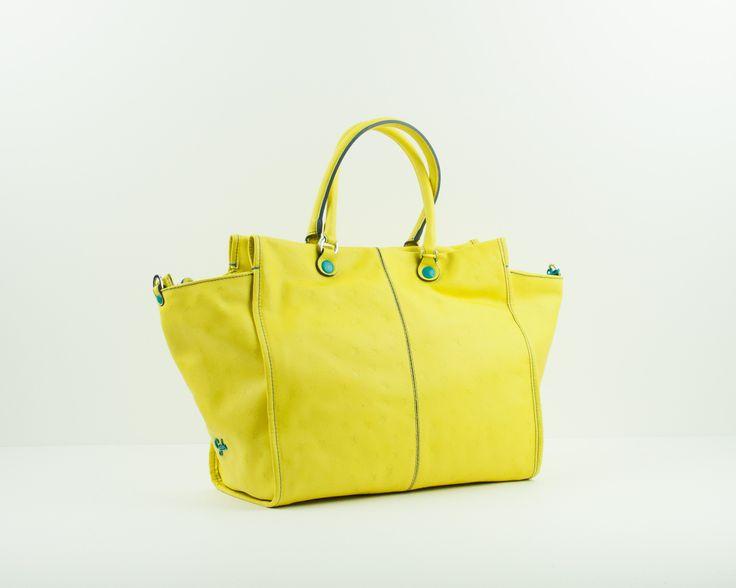 Maxi-bolso amarillo Gabs