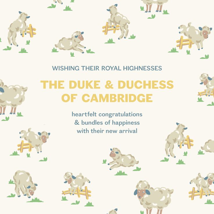 We're so thrilled. What do you think our new Prince should be named? #RoyalBaby #itsaboy #cathkidston