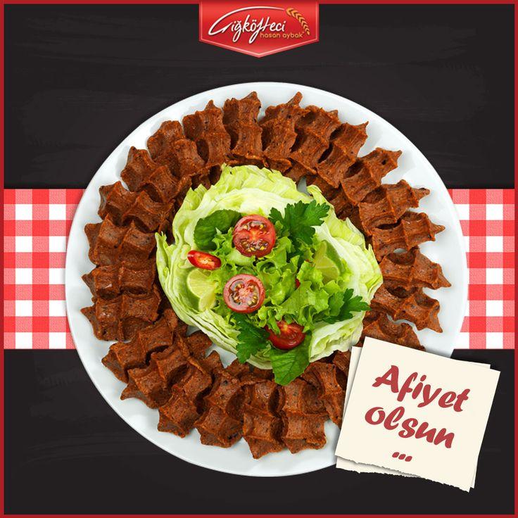 Haftanın son gününde kendinizi lezzetle ödüllendirmeye ne dersiniz? ;) #çiğköftecihasanaybak #çiğköfte #lezzet