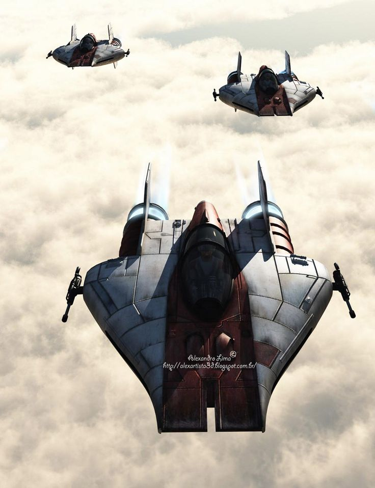 Star Wars A wings by Artist Alexandro Lima. More cool #starwars images at http://alexartista3d.blogspot.com.br/