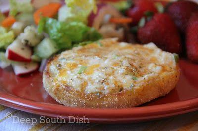 Deep South Dish: Crab Melts