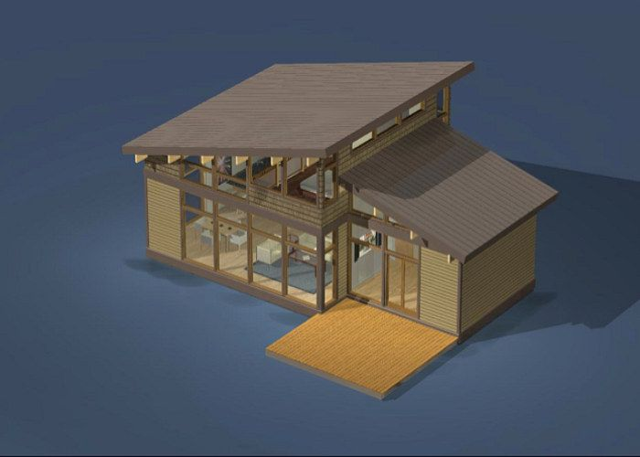 Lindal Homes Puts a Green Twist on the Classic A-Frame
