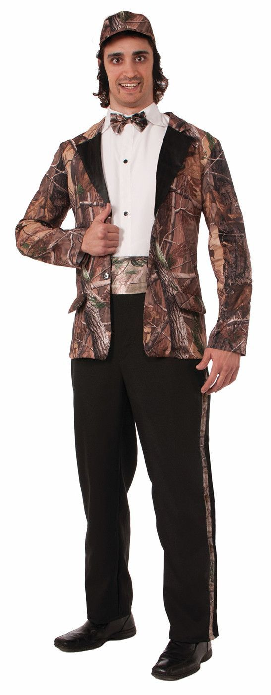*Includes Jacket and Cummerbund *Also Includes Bow Tie and Pants *Brand New in Manufacturer Packaging *Shoes, Hat and Shirt Not Included