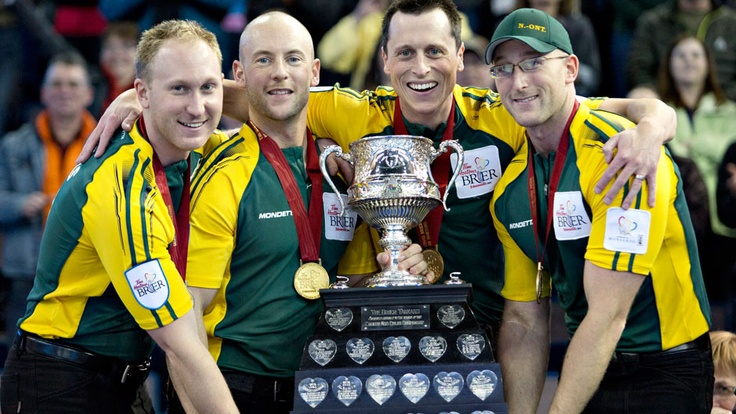 Northern Ontarios Brad Jacobs captures Brier title and now on to the 2014 Olympics!!!