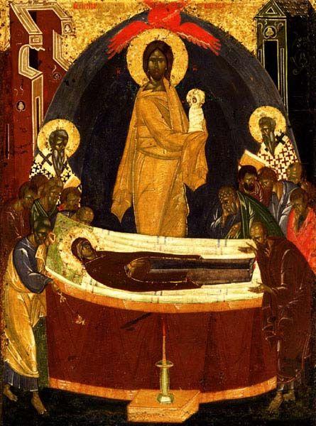 Успение Пресвятой Богородицы. 1390 г. (Феофан Грек)