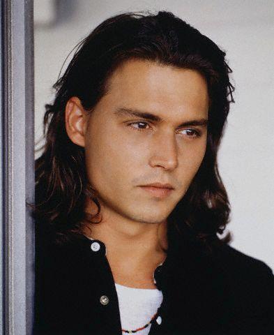 Johnny Depp, photographed by Lance Staedler, 1993