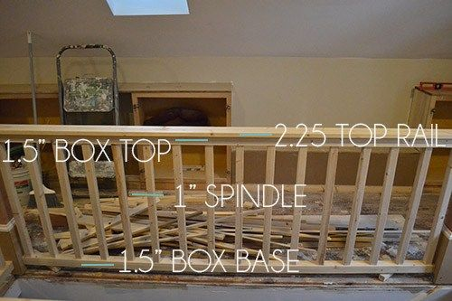 How to build stair railing