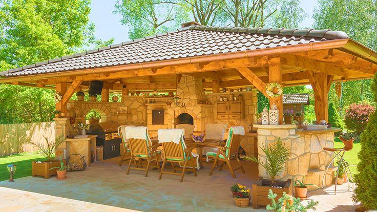 Kamenná kuchyně La Provence pohled 1