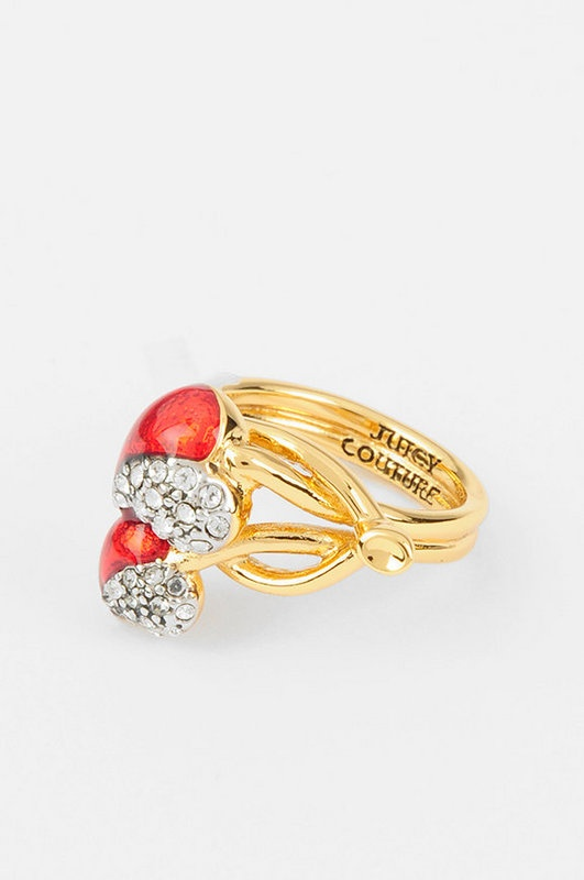 Juicy Couture  Cherry Heart Ring