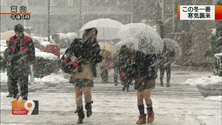 japanese school girls uniform in the winter 08:
