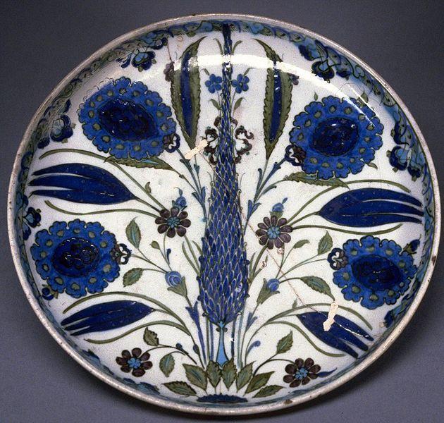 Iznik Fritware Plate 16th century