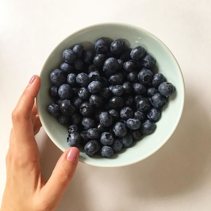 Blueberries for the day!