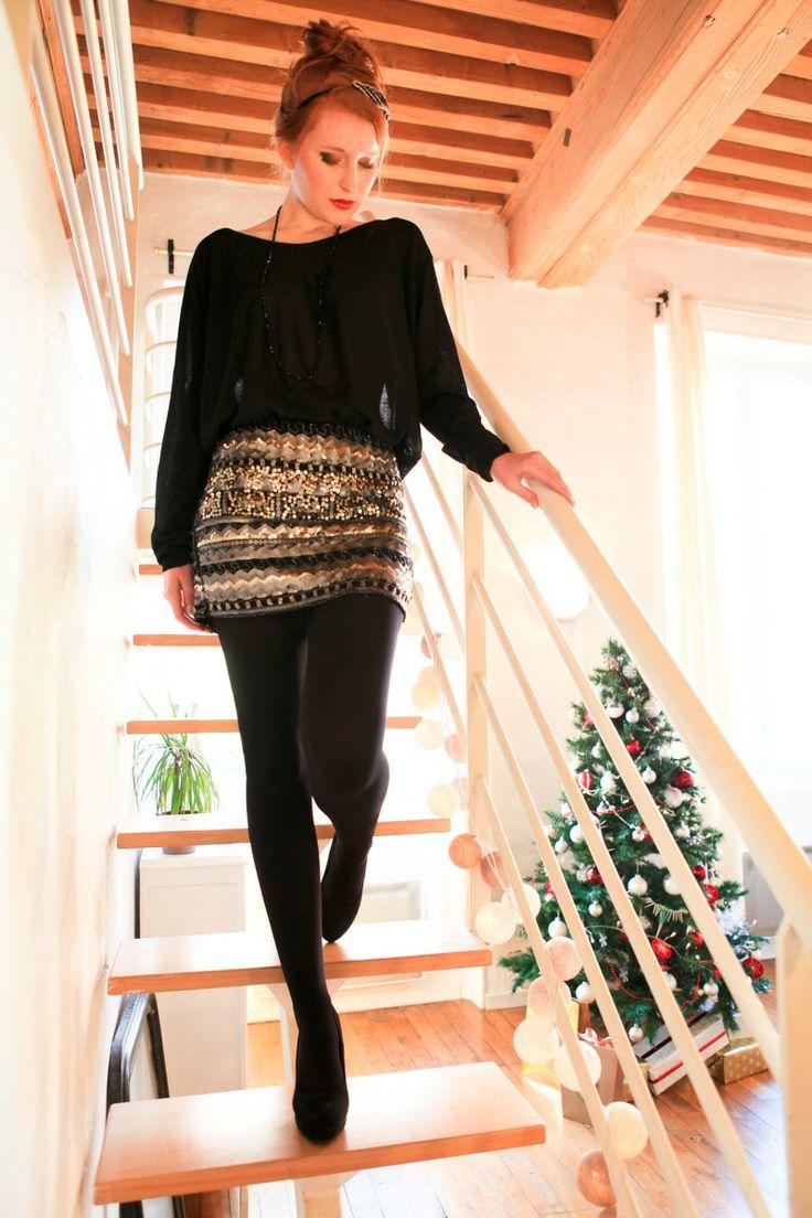 Voici une idée de tenue de fête pour passer un super réveillon. Retrouvez ce look sur notre site http://www.stockfamily.fr/noel-605151/tenues-de-fetes-605155/