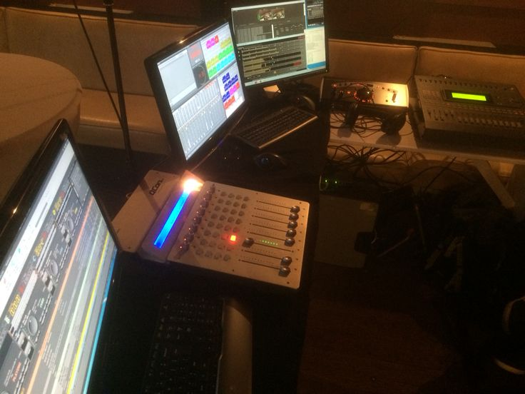 Mobile studio on board of the m/s Brabant, winterfair 2014!