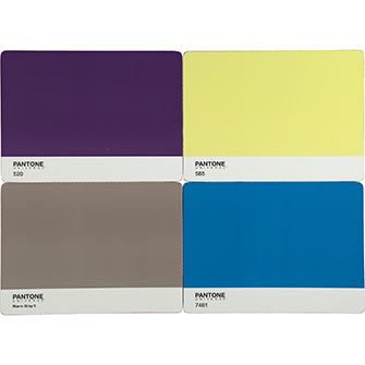 Multicoloured Large Pantone Placemats