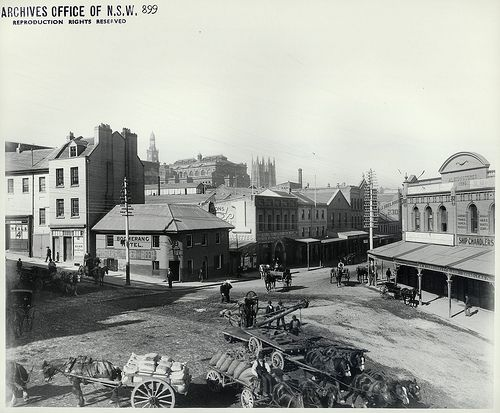 Market Street and Sussex Street, Sydney
