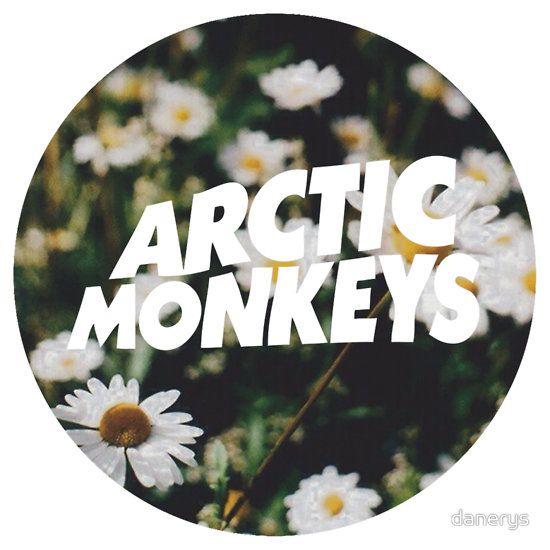 Arctic Monkeys floral logo   Bands in 2019   Arctic ...