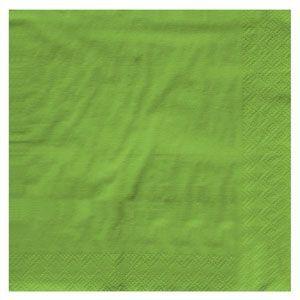 20803123B - Green Napkins Pack of 16 Green Napkins