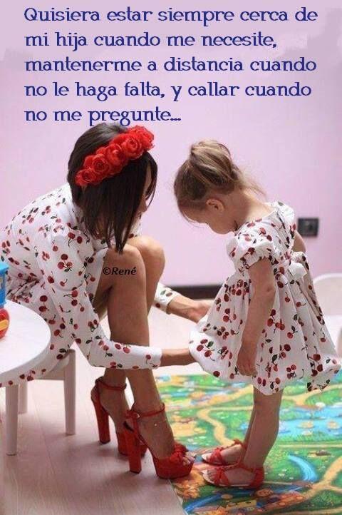 Madre e hija ❀❀❀Teresa Restegui http://www.pinterest.com/teretegui/ ❀❀❀