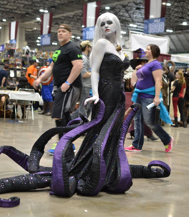 2014 Planet Comicon: Ursula Cosplay Gallery at Project-Nerd (Cosplayer: Ezmeralda Von Katz)
