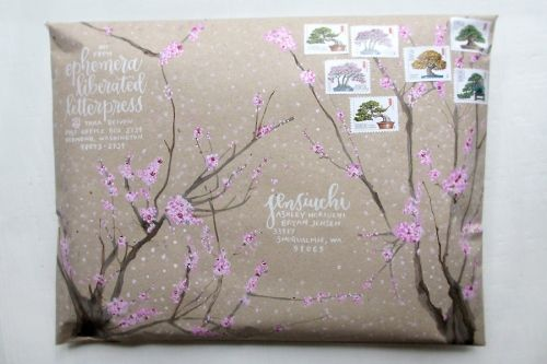 mail art #snailmail #envelope