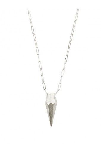 Undiamond Pendant Chain - All Silver