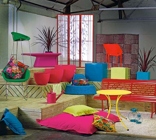 best outdoor summer furniture - Garden Furniture Colour Ideas