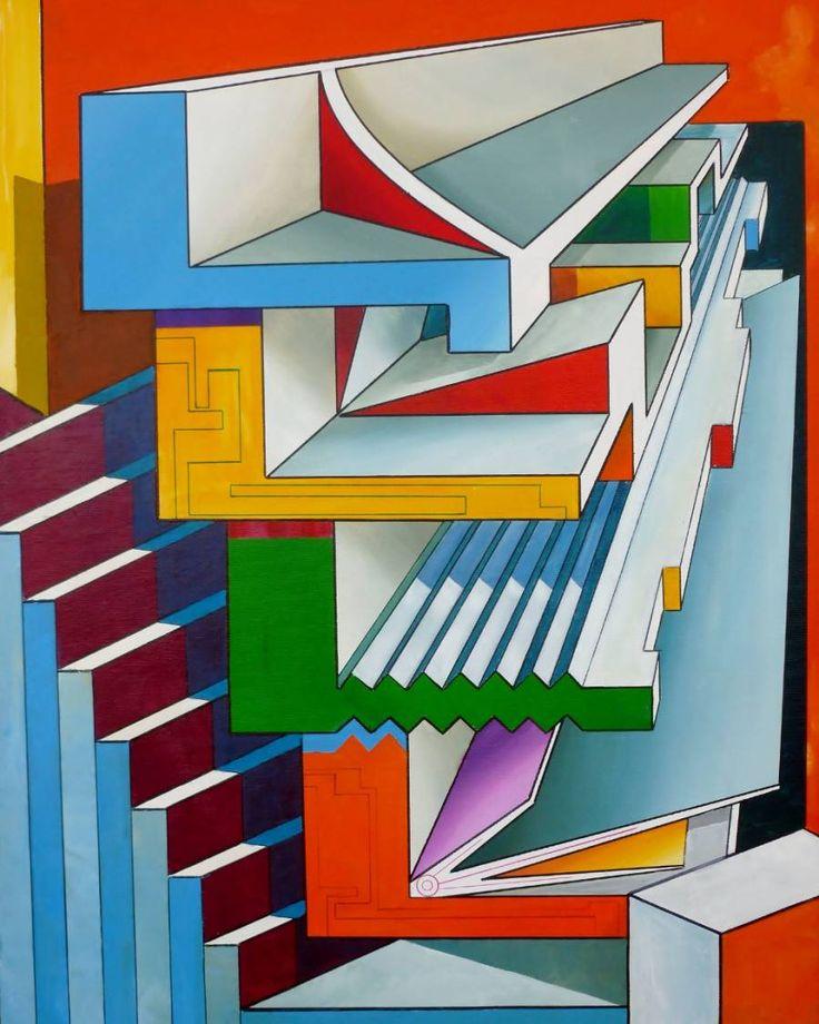 Famous Geometric Paintings | Geometric echoes amongst ...