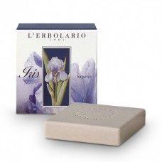 Irisz szappan írisz illattal  - Rendeld meg online! Parfüm és kozmetikum család az olasz Lerbolario naturkozmetikumoktól